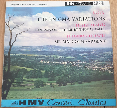 Elgar: The Enigma Variations/Vaughan Williams: Fantasia On A Theme By Thomas Tallis from His Master's Voice (SXLP 20007)