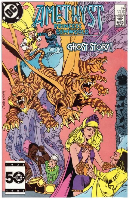 Amethyst: Princess Gemworld #7 Jul 85 from DC Comics
