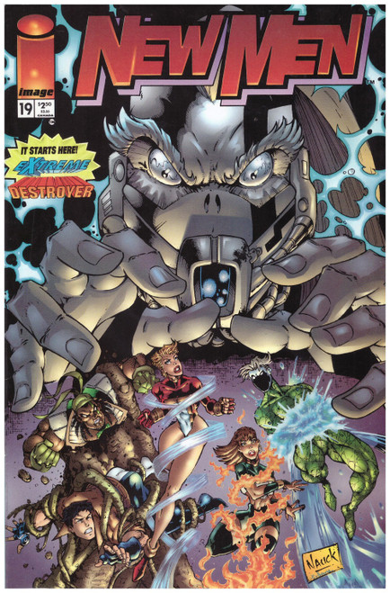 New Men #19 Oct 95 from Image Comics