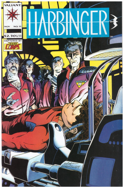 Harbinger #11 Nov 92 from Valiant Comics