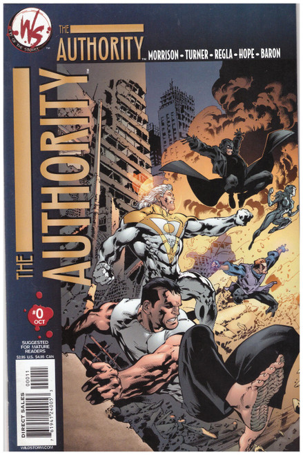 The Authority #0 Oct 03 from Wildstorm Comics