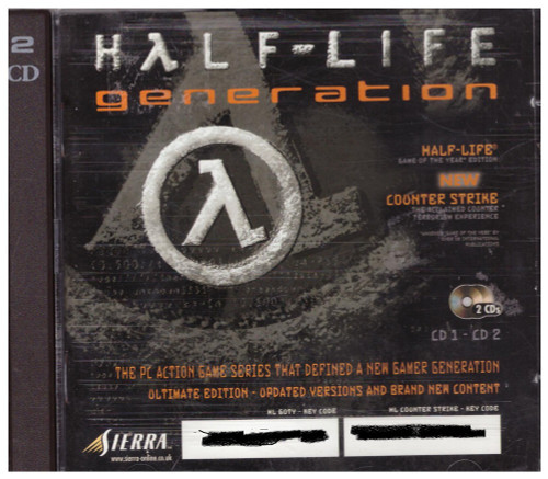 Half-Life Generation for PC from Sierra