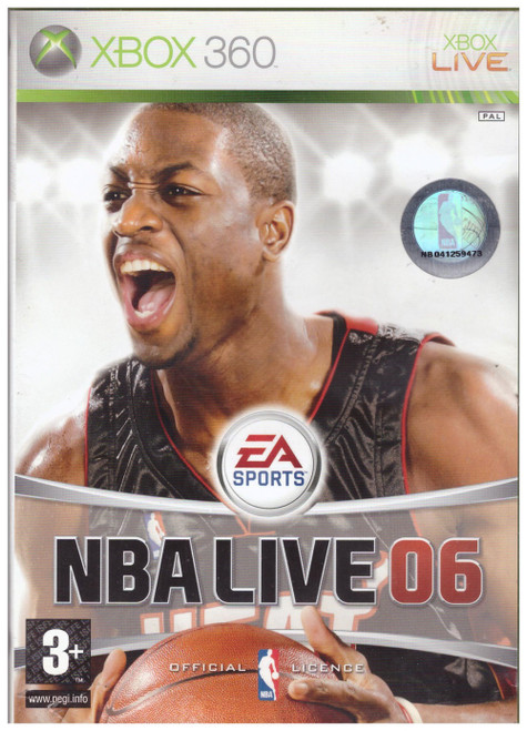 NBA Live 06 PAL for Microsoft XBOX 360 from EA Sports