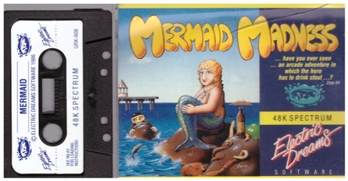 Mermaid Madness for ZX Spectrum from Electric Dreams
