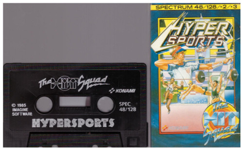 Hypersports for ZX Spectrum from The Hit Squad