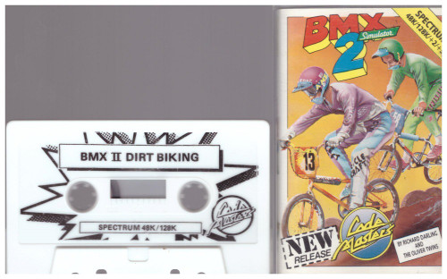 BMX Simulator 2 for ZX Spectrum from Codemasters (2140)