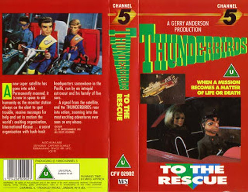 Thunderbirds To The Rescue from Channel 5 on VHS
