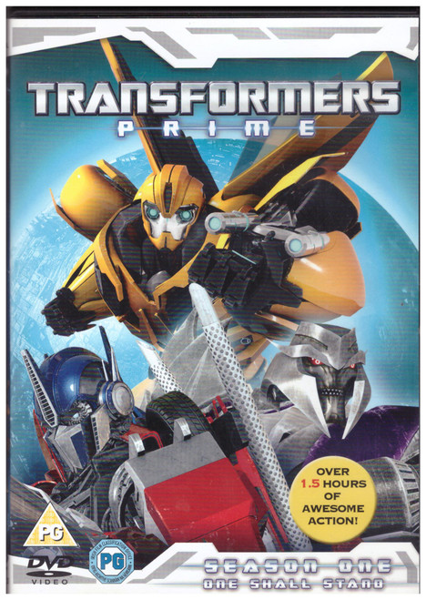 Transformers Prime Season One: One Shall Stand from Universal on DVD (830 044 3)