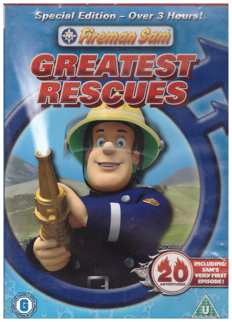 Fireman Sam Greatest Rescues from Hit Entertainment on DVD (HIT42342)