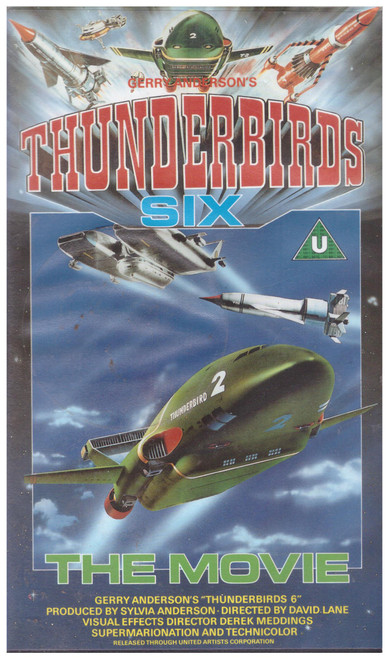 Thunderbirds Six: The Movie VHS from MGM/UA Home Video (SMV 11267)