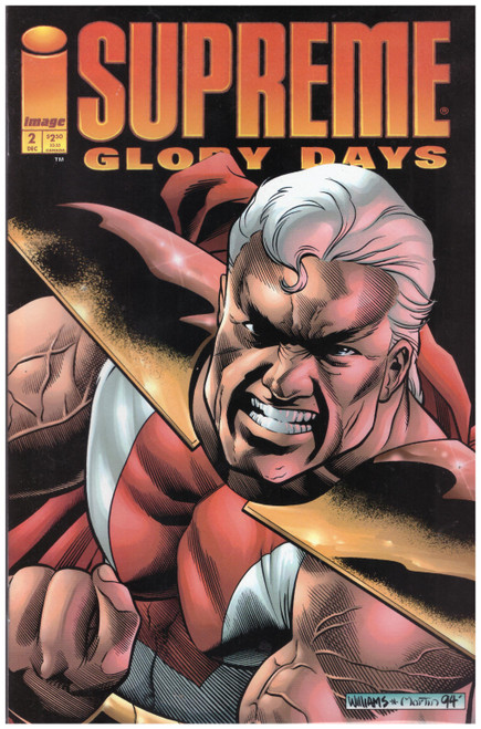 Supreme: Glory Days #2 Dec 94 from Image Comics