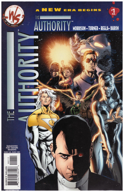 The Authority #1 Jul 03 from Wildstorm Comics