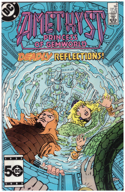 Amethyst: Princess Of Gemworld #6 Jun 85 from DC Comics