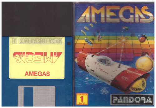 Amegas for Commodore Amiga from Pandora