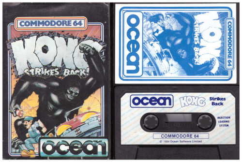 Kong Strikes Back for Commodore 64 from Ocean
