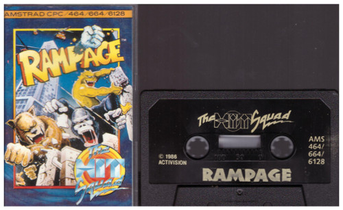 Rampage for Amstrad CPC from The Hit Squad