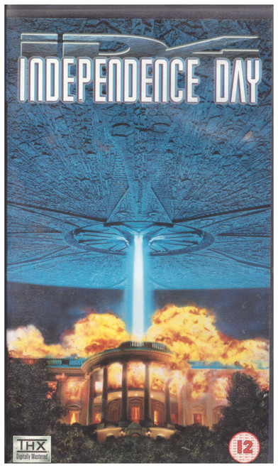 Independence Day VHS from 20th Century Fox Home Entertainment (4118S)