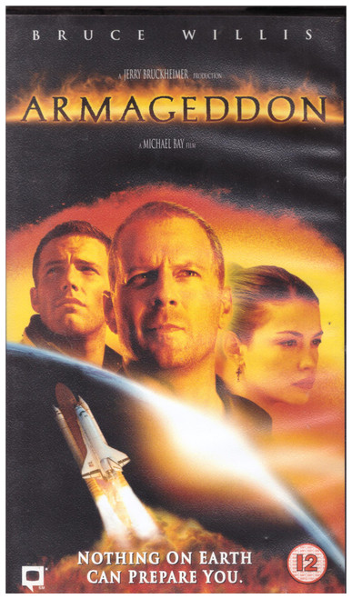 Armageddon VHS from Touchstone Home Video (D610119)