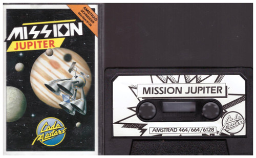 Mission Jupiter for Amstrad CPC from Codemasters (3043)