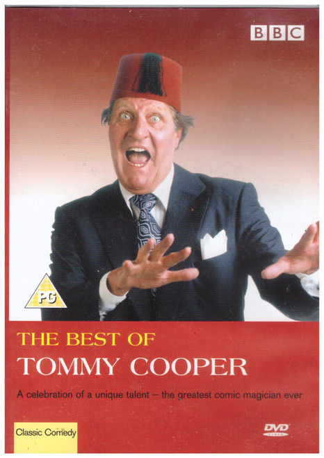 The Best Of Tommy Cooper from BBC on DVD (BBCDVD 1337)