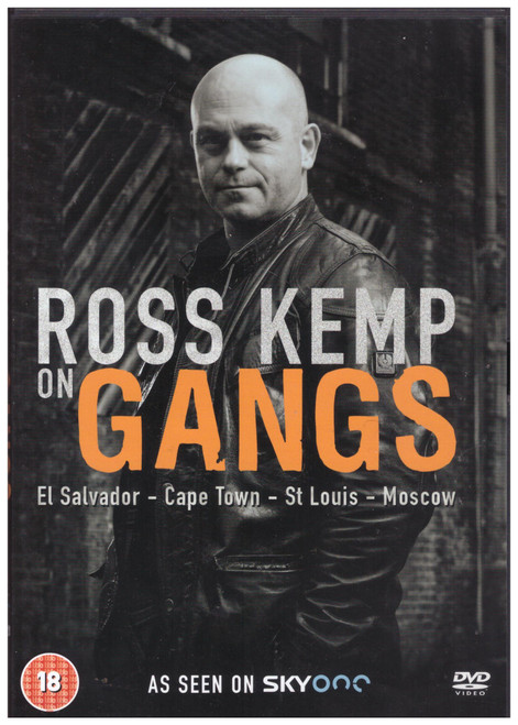 Ross Kemp On Gangs from 2 Entertain on DVD (2EDVD0171)