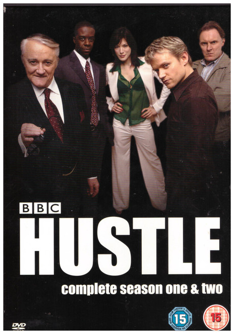 Hustle Complete Season One & Two from Warner Home Video on DVD (Z1 91453)