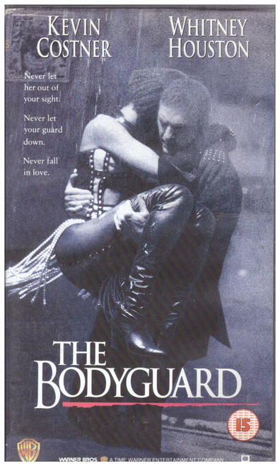 The Bodyguard VHS from Warner Home Video (S012591)
