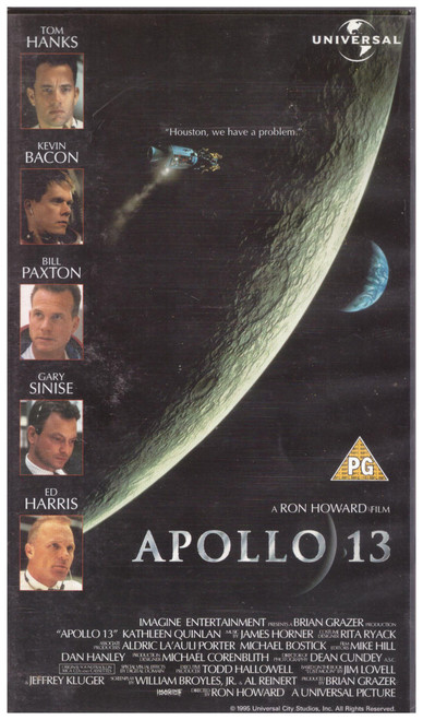 Apollo 13 VHS from Universal (044 3543)