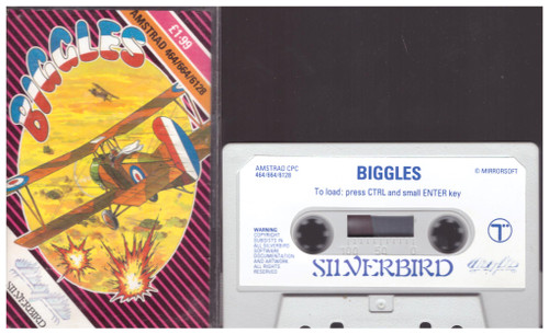 Biggles for Amstrad CPC from Silverbird