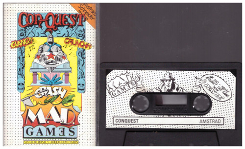 Con-Quest for Amstrad CPC from Mastertronic (MAD 21)