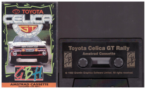 Toyota Celica GT Rally for Amstrad CPC from GBH