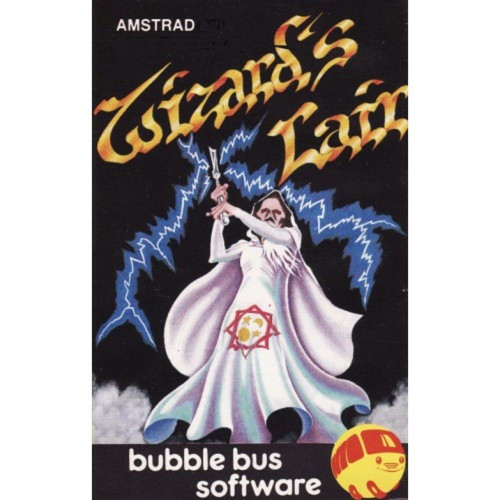Wizard's Lair for Amstrad CPC by Bubble Bus Software on Tape