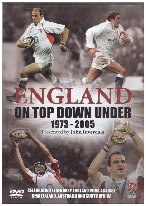 England On Top Down Under 1973-2005 from Go Entertain on DVD (GRD3271)