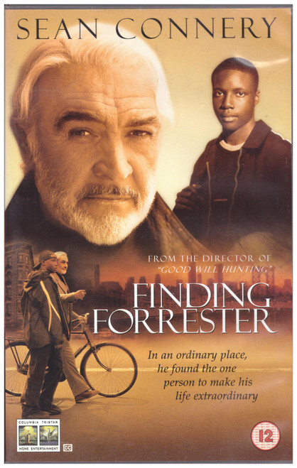 Finding Forrester VHS from Columbia Tristar Home Entertainment (CVS 31745B)