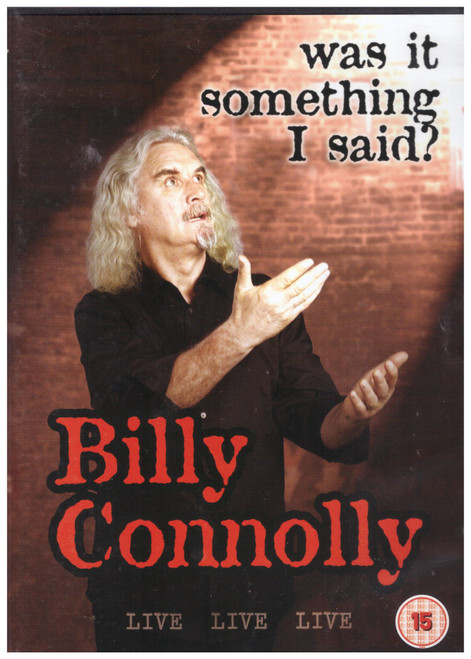 Billy Connolly - Was It Something I Said? from Universal on DVD (8250614)