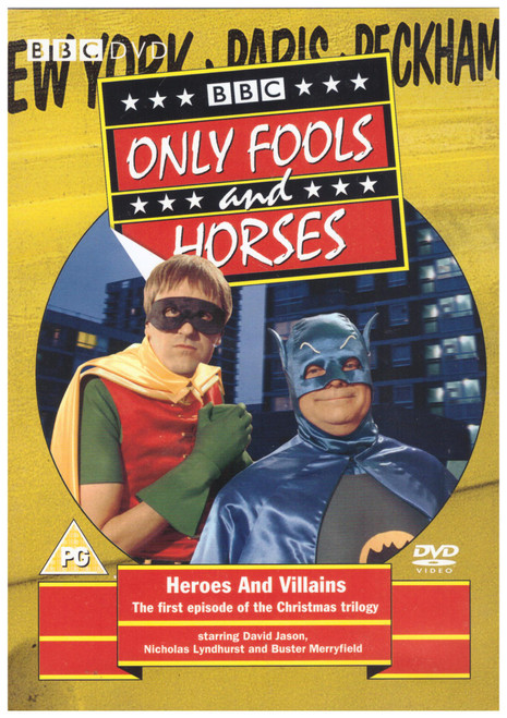 Only Fools And Horses: Heroes And Villains from BBC on DVD (BBCDVD 1380)