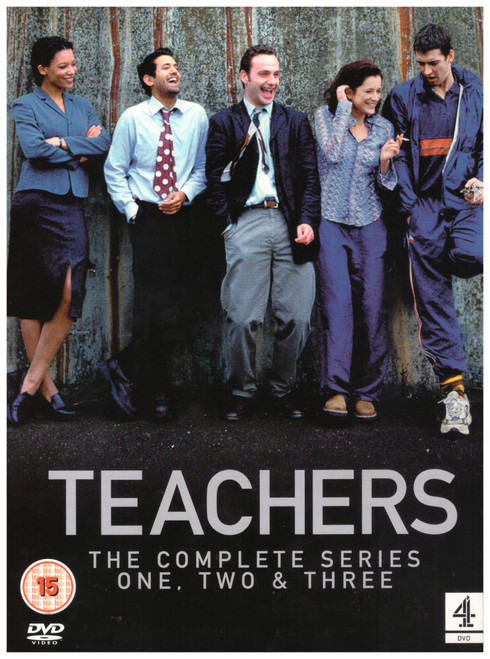 Teachers: The Complete Series One, Two & Three from Channel 4 DVD/VCI on DVD (VCD0364)
