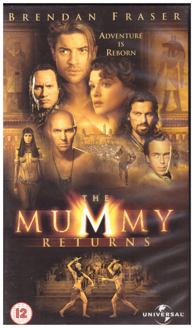The Mummy Returns VHS from Universal (904 2823)