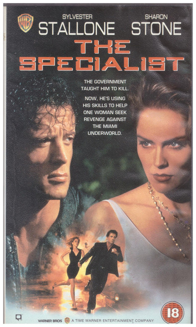 The Specialist VHS from Warner Home Video (S013574)