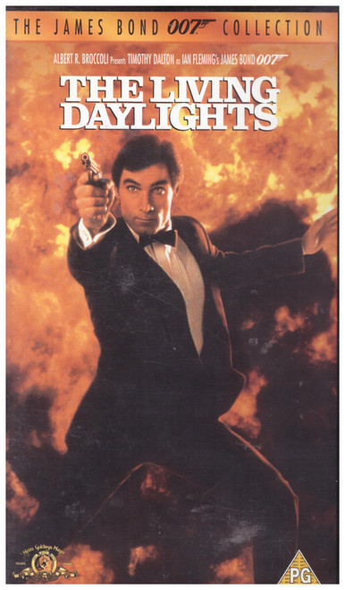 The Living Daylights VHS from MGM Home Entertainment (16193S)