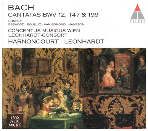 Bach: Cantatas BWV 12, 147 & 199 from Teldec (0630-12532-2)