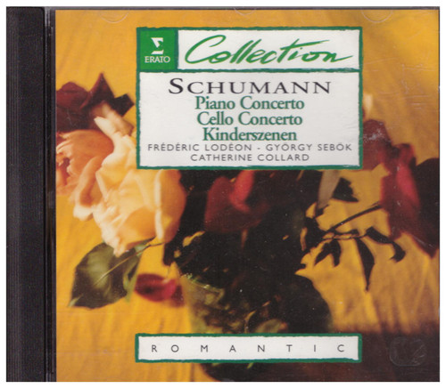 Schumann: Piano Concerto/Cello Concerto/Kinderszenen from Erato (0630-12820-2)
