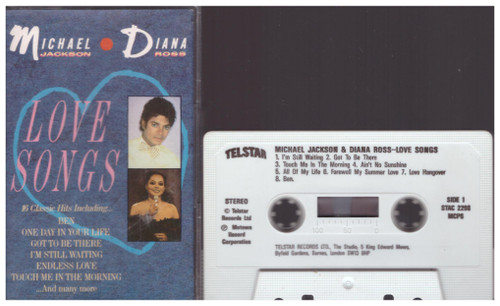 Love Songs by Michael Jackson/Diana Ross from Telstar (STAC 2298)