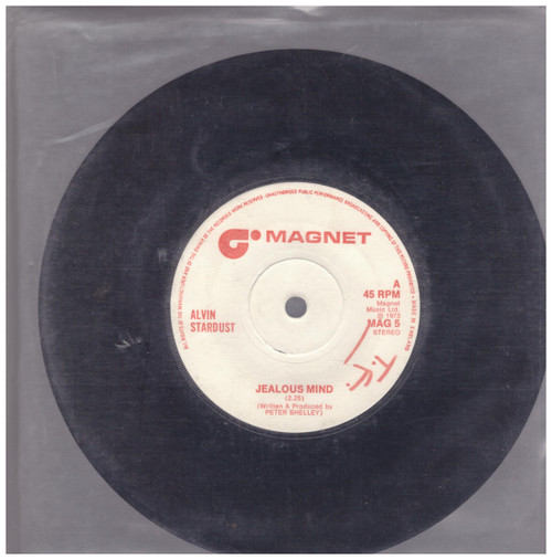 Jealous Mind/Guitar Star by Alvin Stardust from Magnet (MAG 5)