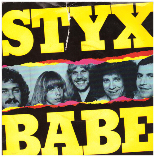 Babe/I'm O.K. from Styx from A&M Records (AMS 7489)