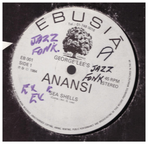 Sea Shells/Song Of Peace by Anansi from Ebusia (EB 001)