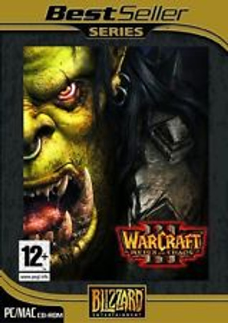 Warcraft III: Reign Of Chaos for PC/Mac by Blizzard on CD