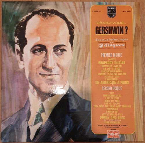 Aimez-Vous... Gershwin? from Philips (6702 012)