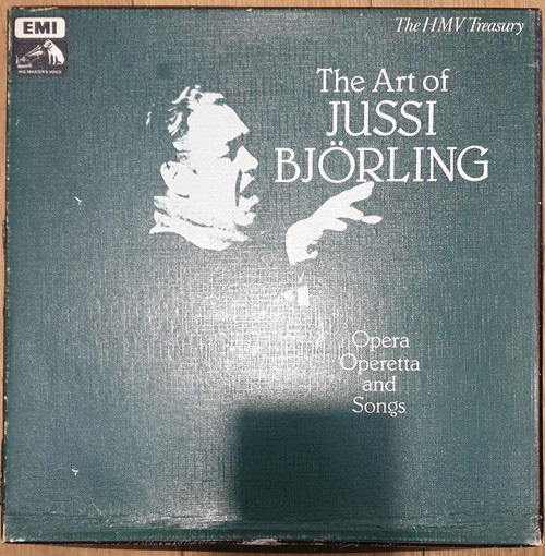 The Art Of Jussi Bjorling from His Master's Voice (RLS 715)