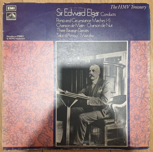 Sir Edward Elgar Conducts from His Master's Voice (HLM 7005)